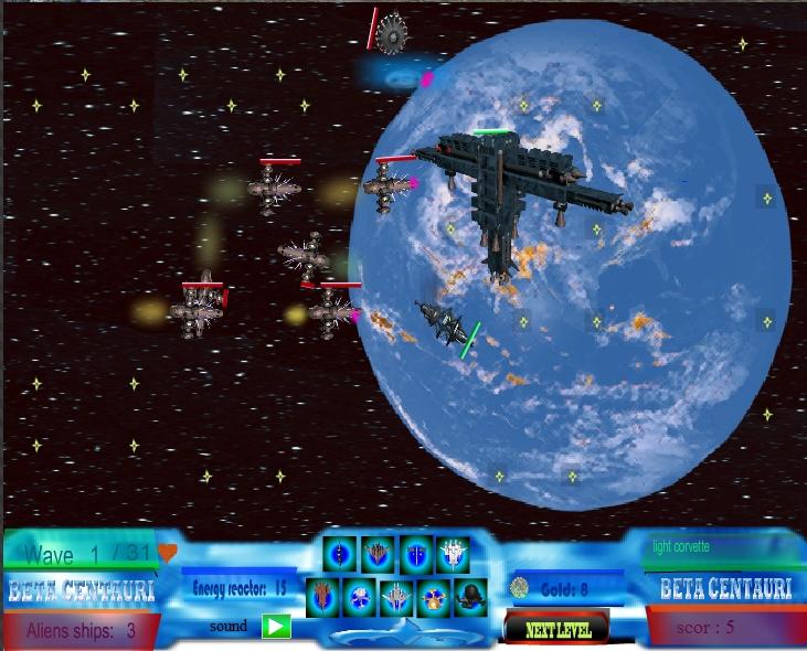 Игра Beta Centauri онлайн