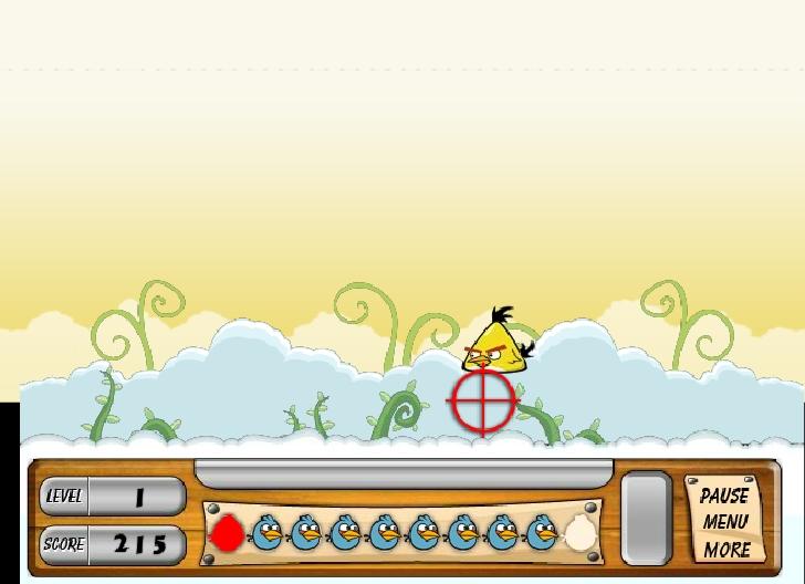 Игра Birds Hunter онлайн