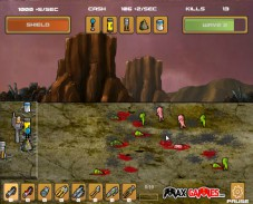 Игра Bomb the Aliens онлайн