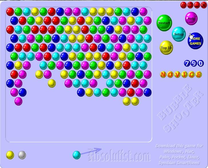Игра Bubble shooter онлайн