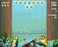 Игра Bubblefrog онлайн