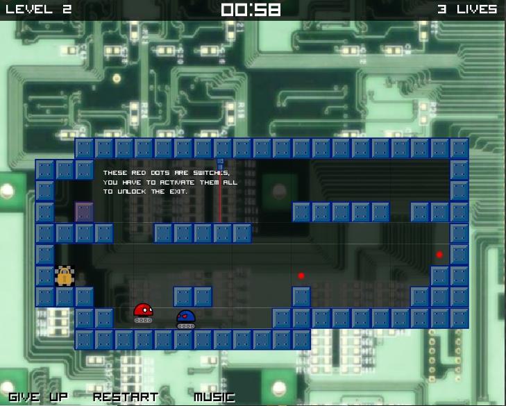 Игра Cyber Nibblet онлайн