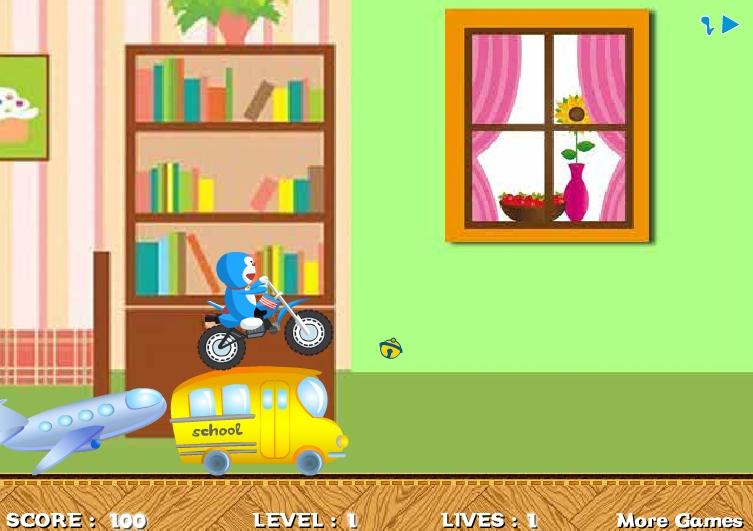 Игра Doraemon Super Ride онлайн