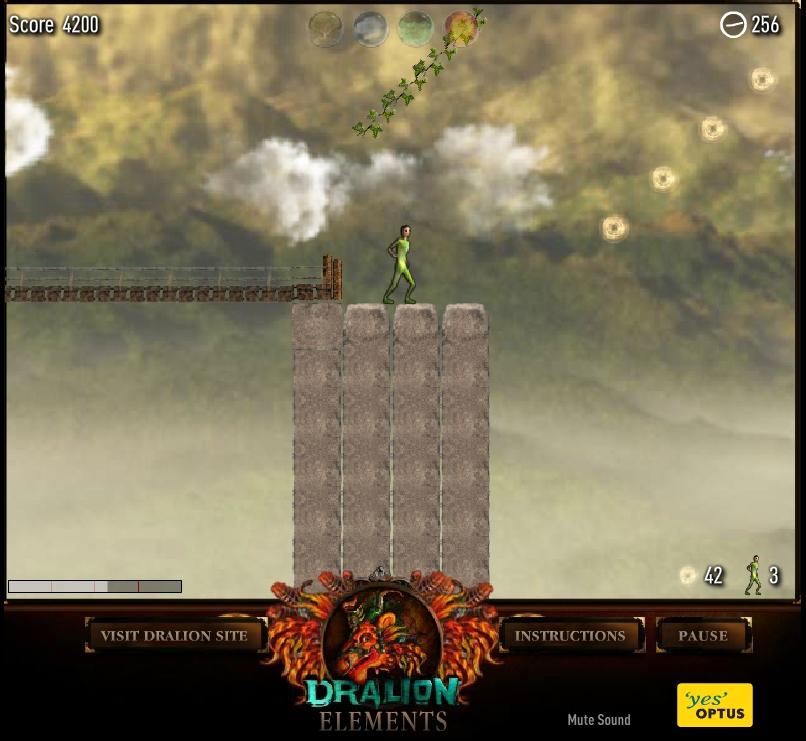 Игра Dralion Elements онлайн