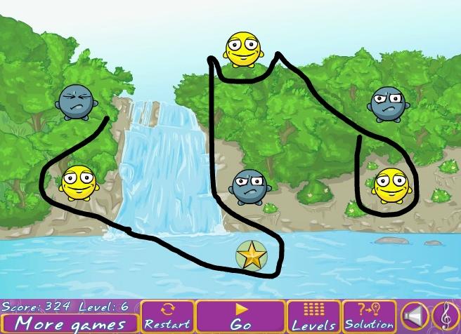 Игра Draw a Line онлайн