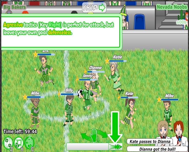 Игра Fantastic Football онлайн