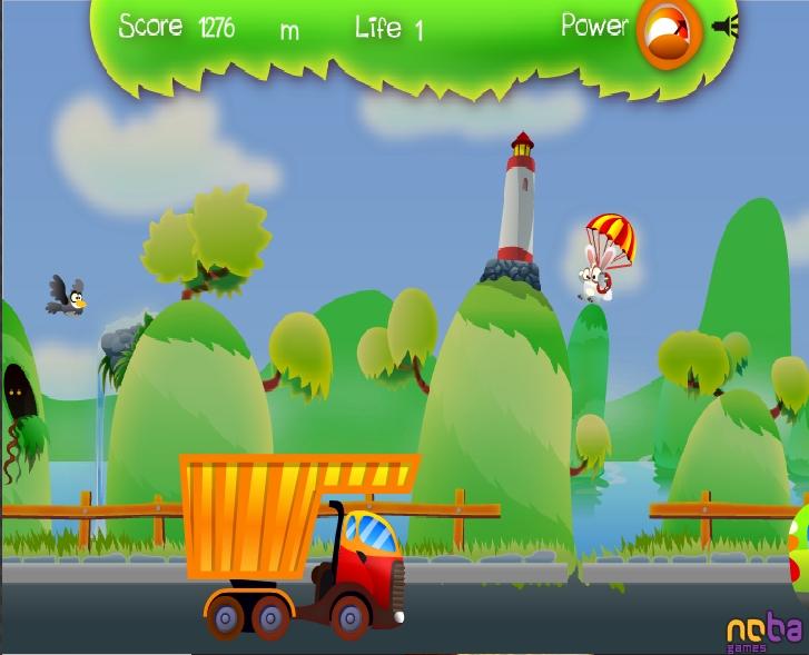 Игра Flying Rabbit онлайн