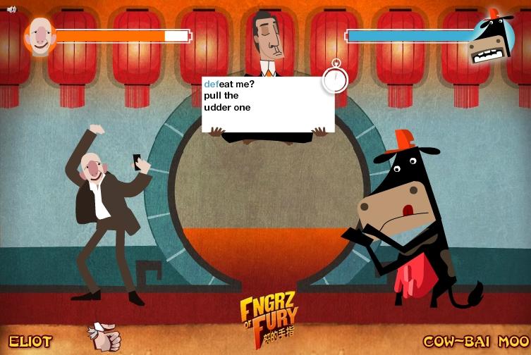 Игра Fngrz of Fury онлайн