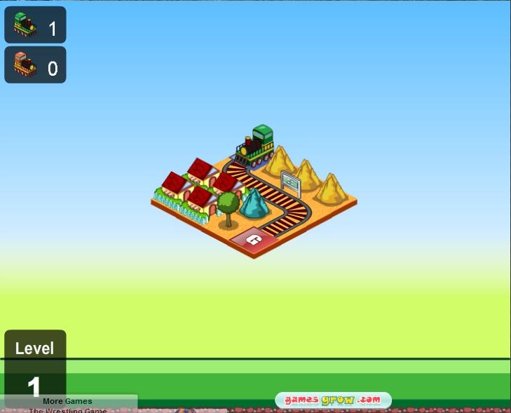 Игра GOGO Train HD онлайн