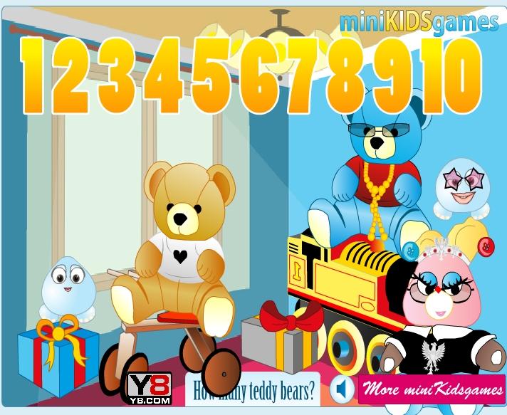 Игра How Many Teddy Bears онлайн