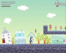 Игра Hungry Penguin онлайн