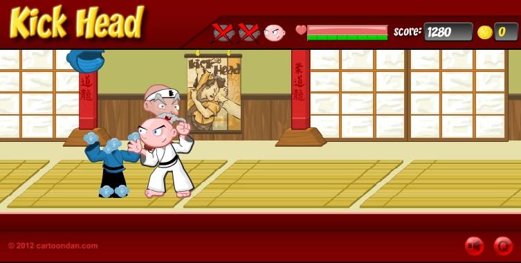 Игра Kick Head онлайн