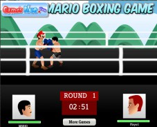 Игра Mario Boxing Game онлайн