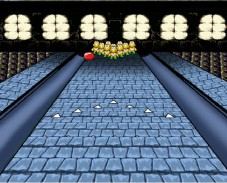Игра Mario Castle Bowling онлайн