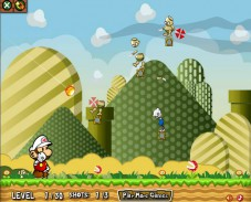 Игра Mario Fire Bounce 2 онлайн