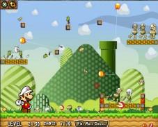 Игра Mario Fire Bounce онлайн