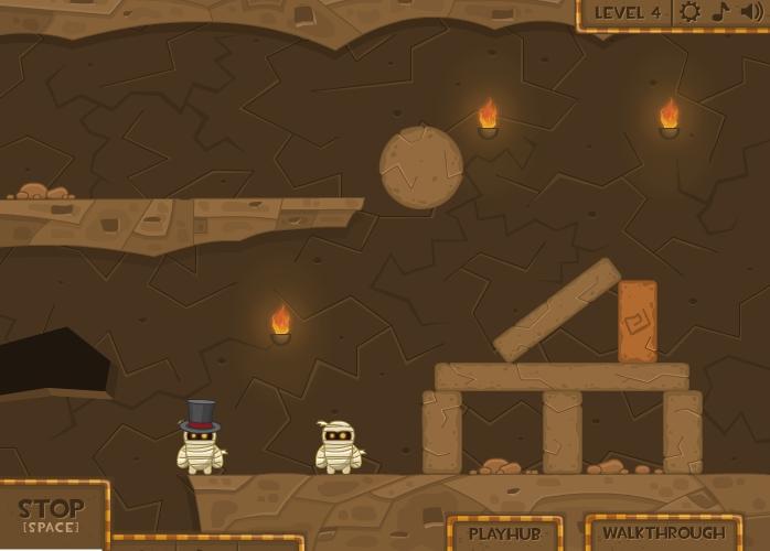 Игра Mummy Blaster онлайн