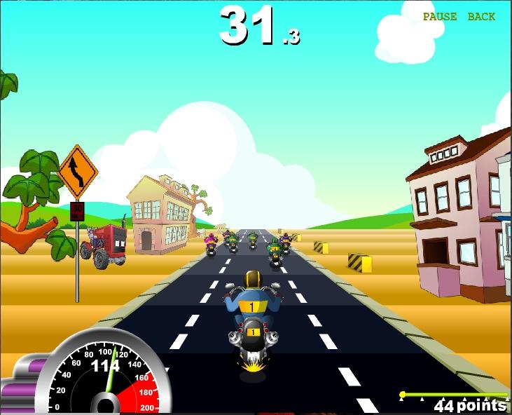 Игра Race Choppers онлайн