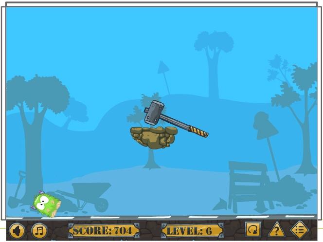 Игра Roll the Monster онлайн