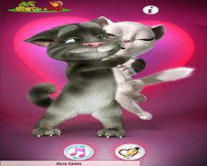 Игра Talking Tom Valentine онлайн