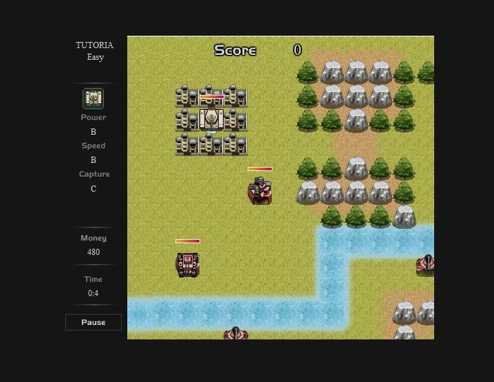Игра Tank Tactics онлайн