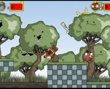 Игра The Chronicles of Stinky Bean онлайн