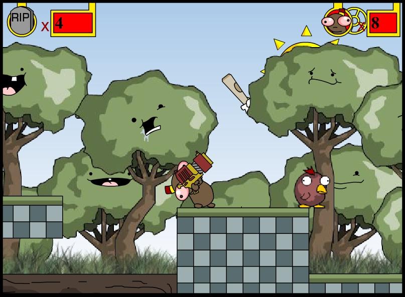 Игра The Chronicles of Stinky Bean онлайн