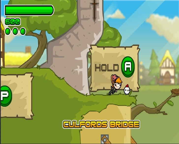 Игра The Super Exciting Adventures онлайн