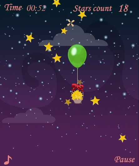 Игра The night the starry sky онлайн