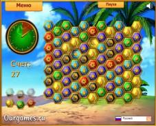 Игра Tropical Gems онлайн