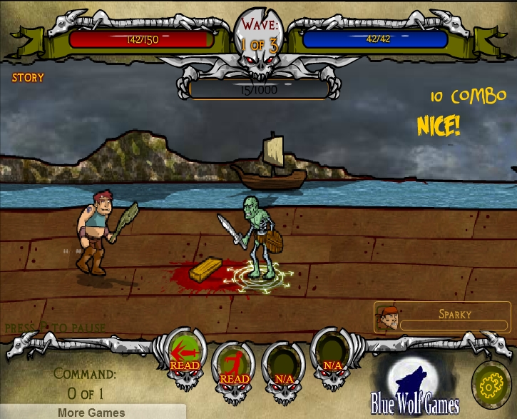 Игра Undead Throne онлайн