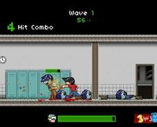 Игра Zombie Punch онлайн
