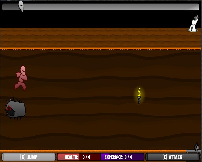 Игра Бегун по пещерам онлайн