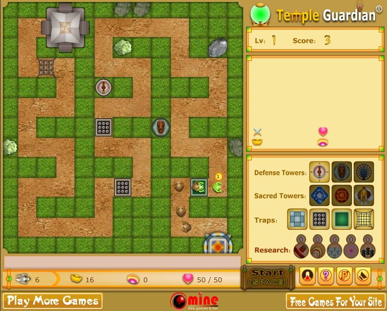 Игра Защита дома онлайн