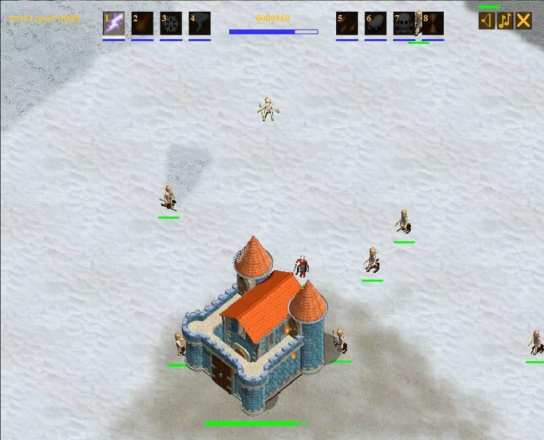 Игра Защита крепости онлайн