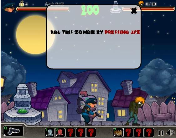 Игра Зомби охота онлайн