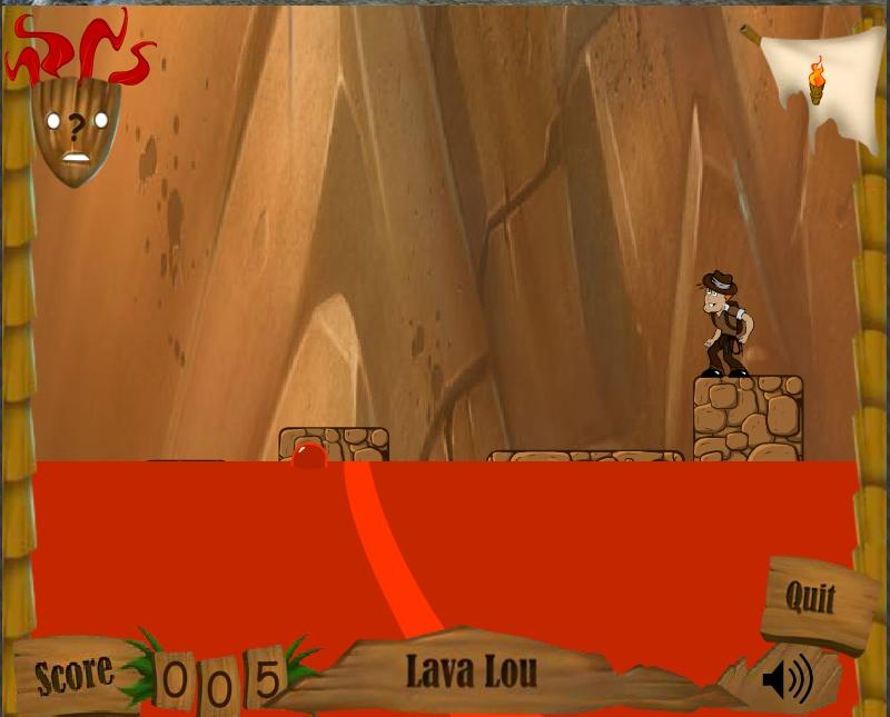 Игра Лава Лу онлайн