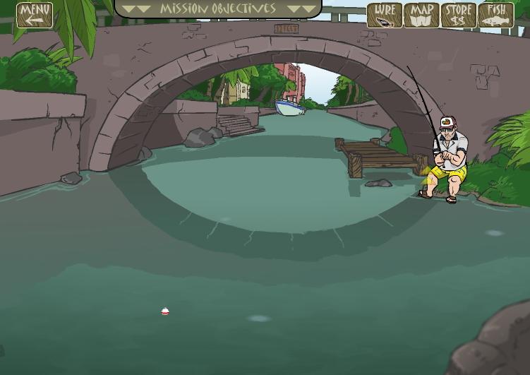 Игра Amateur Action — Super Fishing онлайн