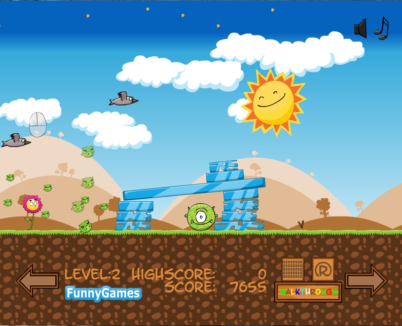 Игра Angry Animals онлайн