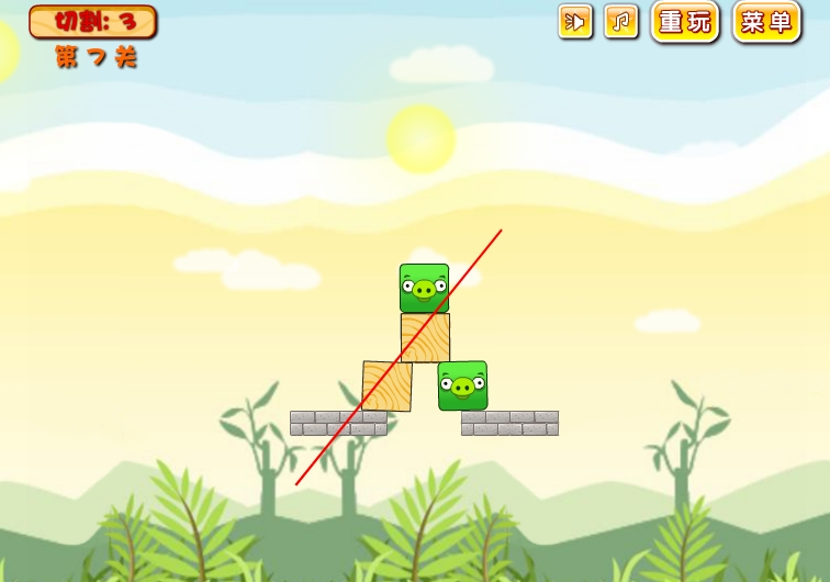 Игра Angry Birds Splitter онлайн