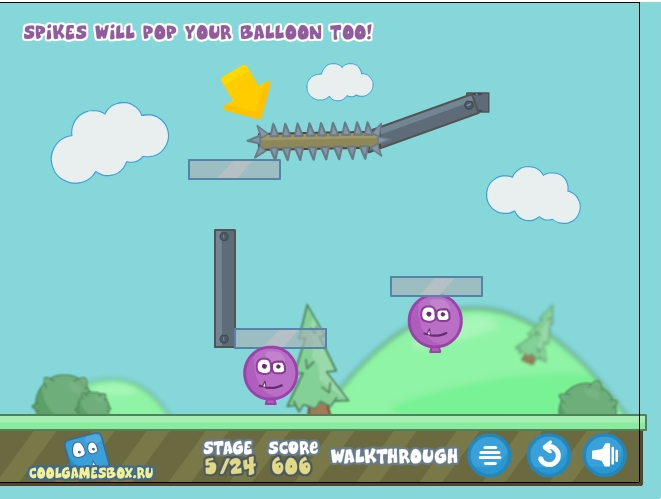 Игра Ballooner: New Adventures онлайн