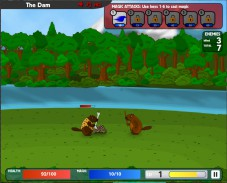 Игра Battle Beavers онлайн