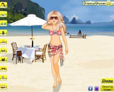 Игра Beach Bikini Babe онлайн
