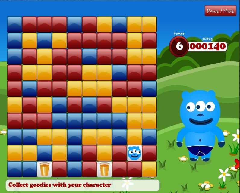 Игра Blockular онлайн