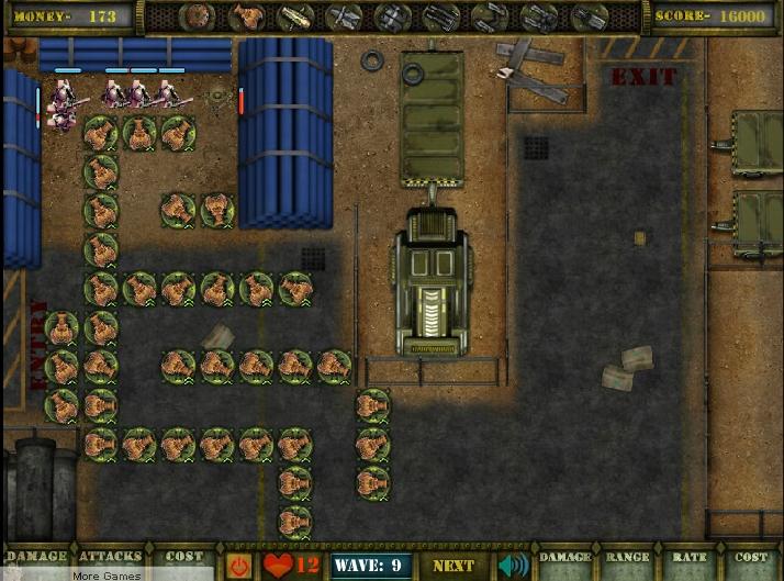 Игра Defending Paradise онлайн