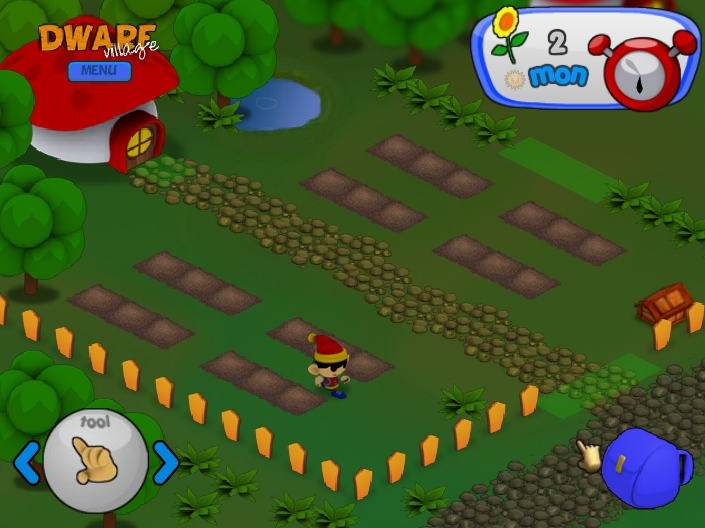 Игра Dwarf Village (Деревня гномов) онлайн