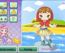 Игра Fairy Еale Dress-up онлайн