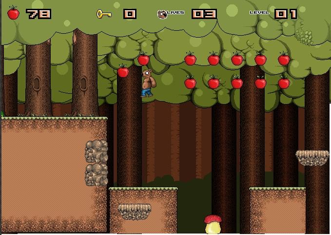 Игра Приключение медвежонка онлайн