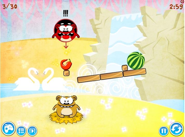 Игра Hungry Bobby Bear онлайн