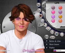 Игра Johnny Depp Make Up онлайн